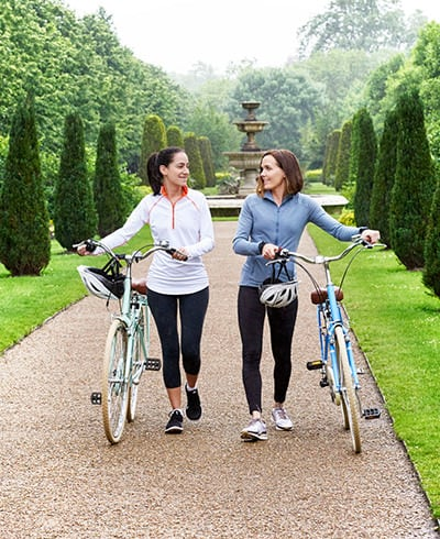 Over Breakfast: Jane Lauder Goes for a Ride with Victoria Pendleton