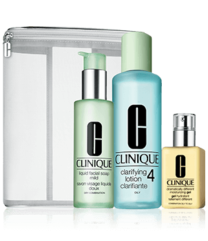 3-Step Kit with Liquid Facial Soap - Oily Skin Types