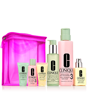 Great Skin Home and Away Gift Set (Skin Types III/IV)