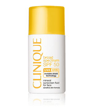 SPF 50 Mineral Sunscreen Fluid For Face