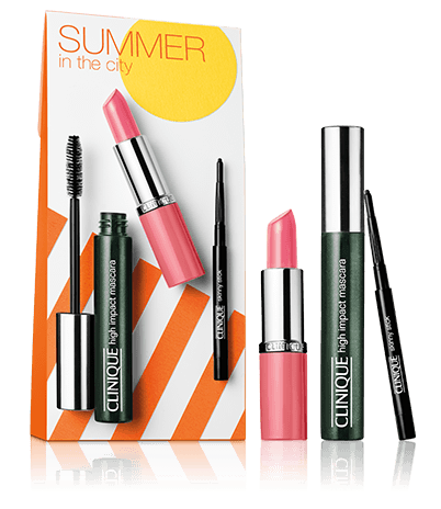 summer in the city makeup kit  clinique