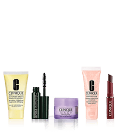 Clinique Starter Kit.<br> 5 best sellers to go.
